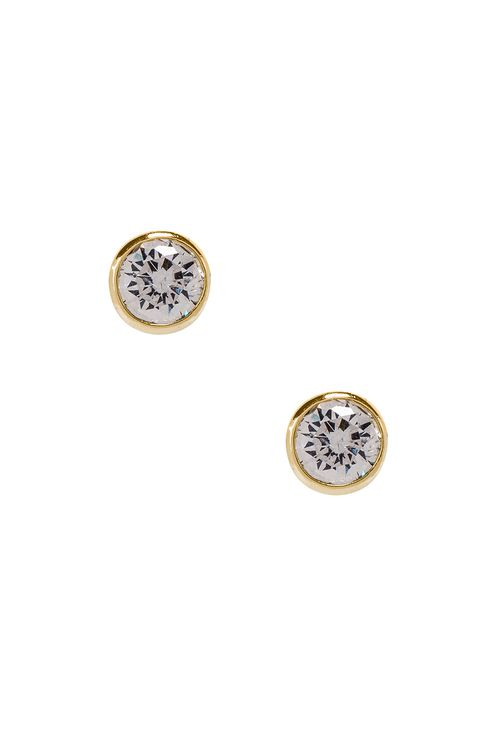 Shashi Solitaire Stud Earring