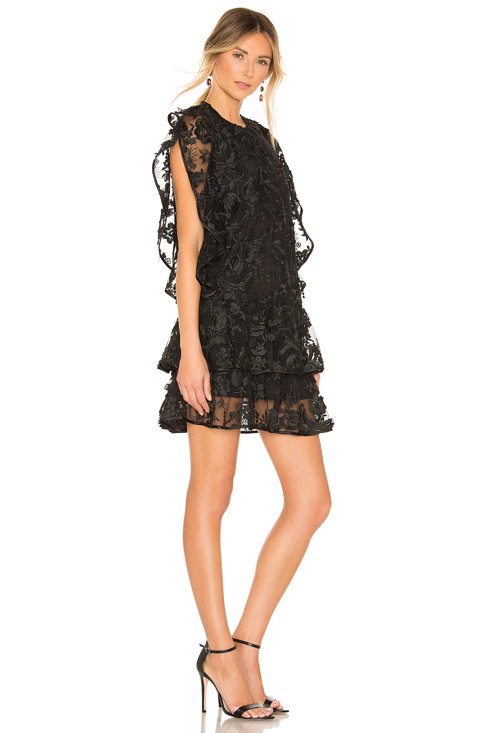 Cynthia Rowley Lace Mini Dress