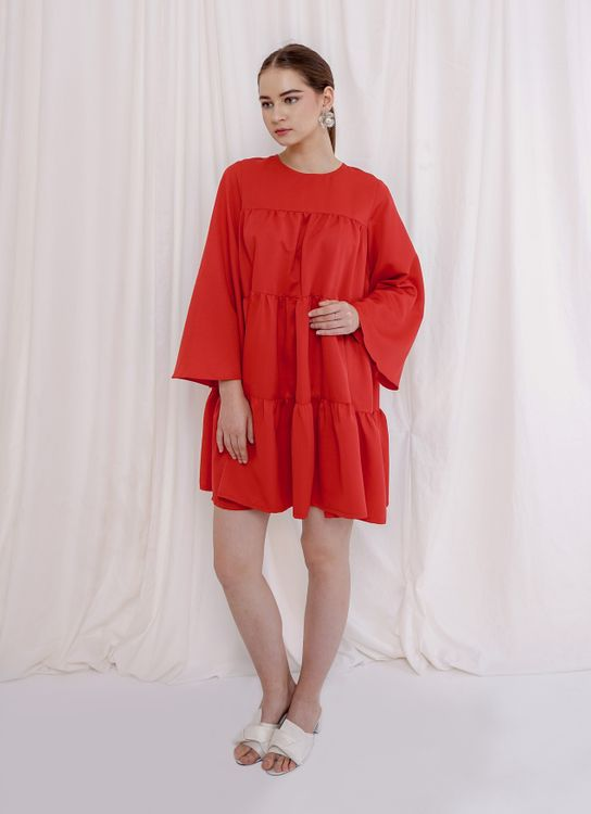 M By Mischa Penelope Dress - Red