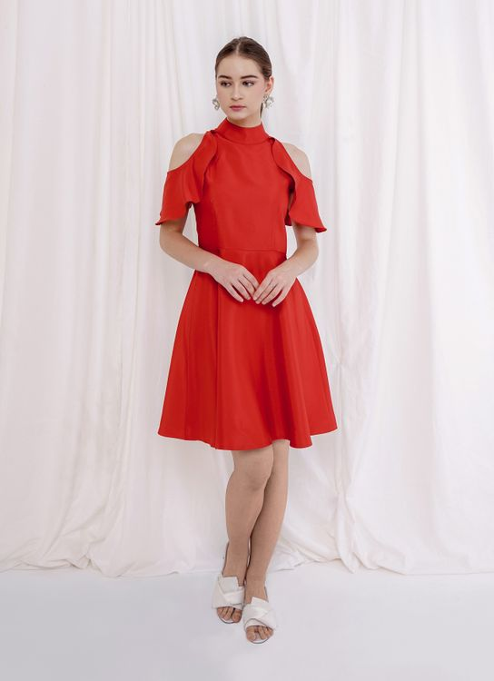 M By Mischa Tianjin Dress - Red