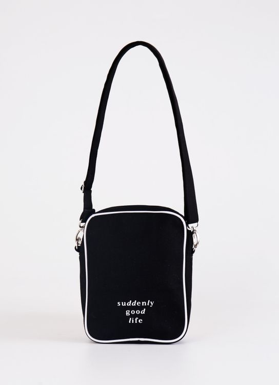 suddenly good life ##/02 Sling Bag - Black