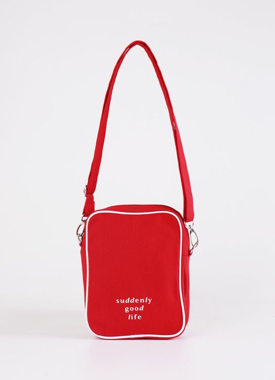 suddenly good life ##/02 Sling Bag - Red
