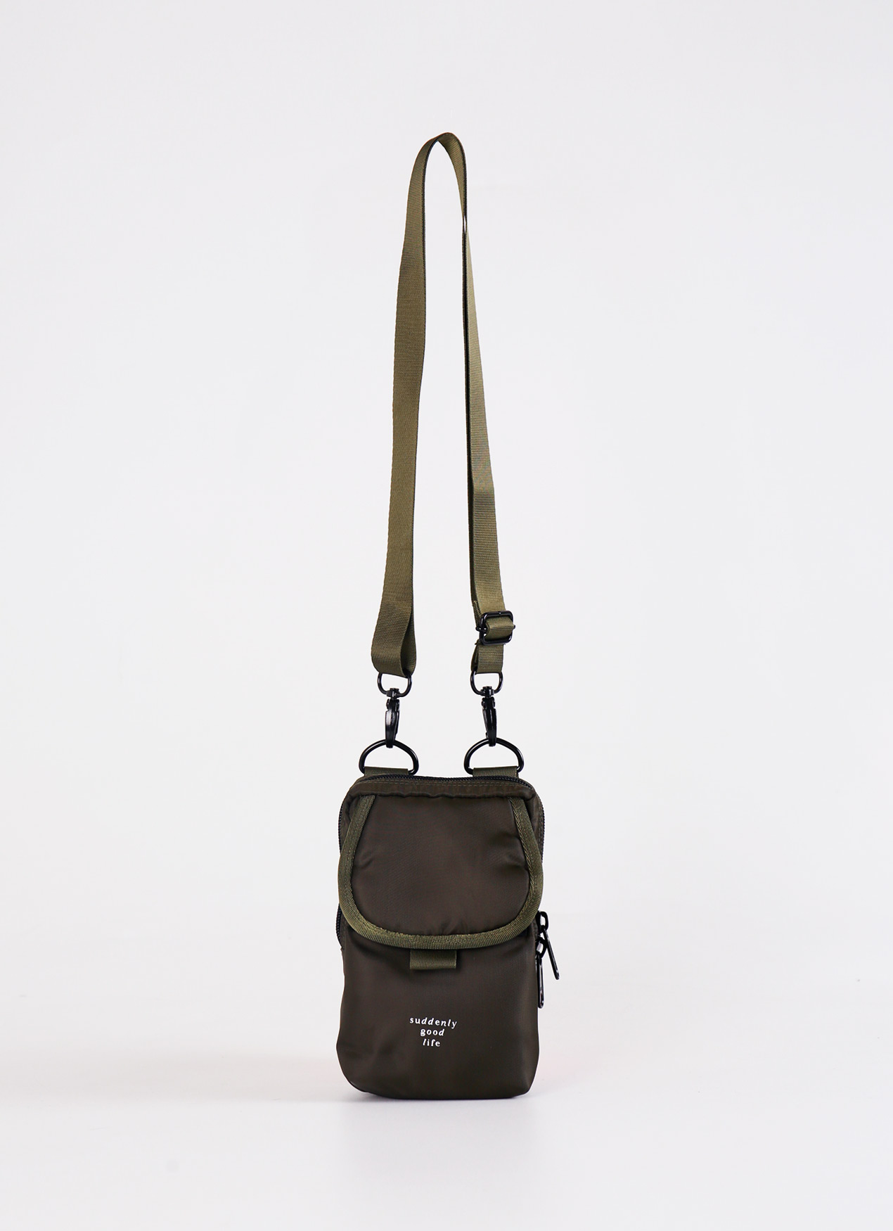 suddenly good life ##/03 Sling Bag - Dark Green