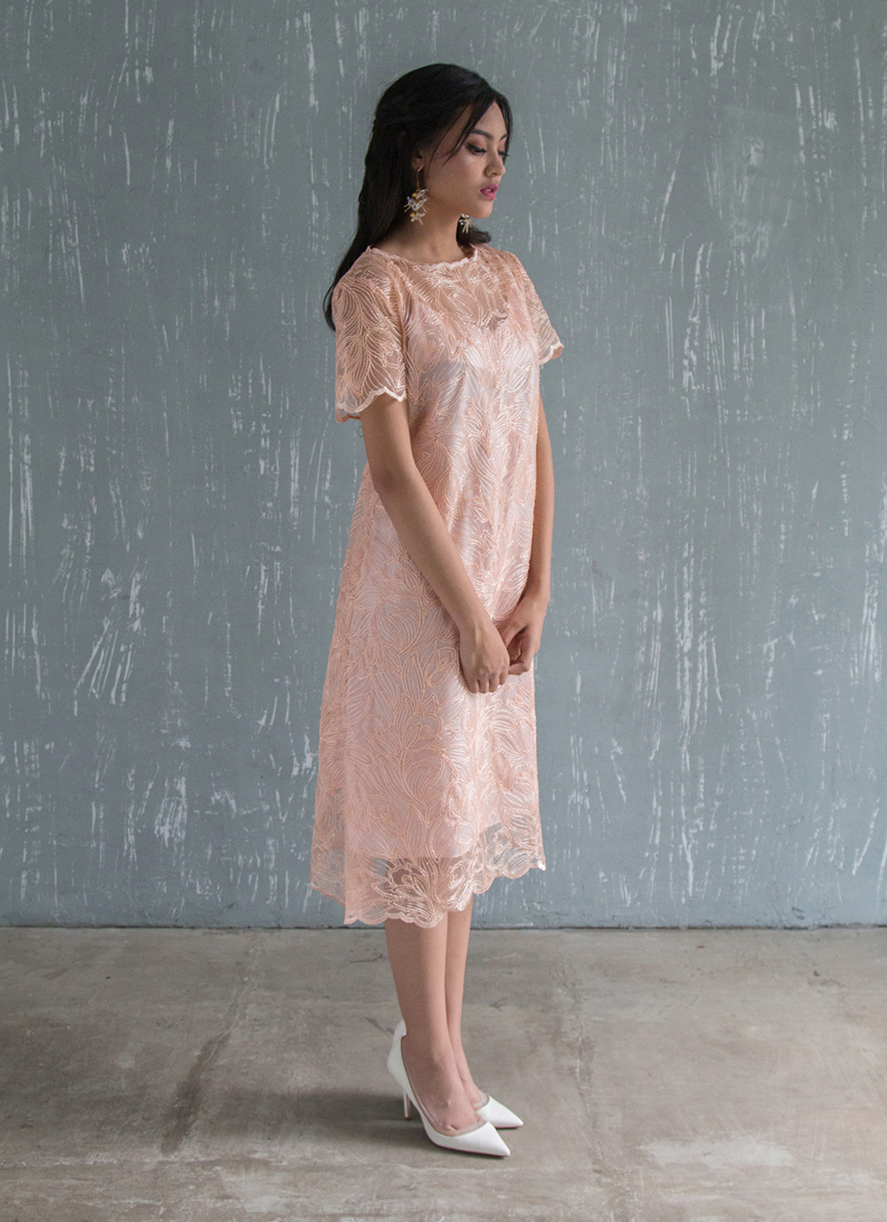 Jove Official Charmed Dress - Peach