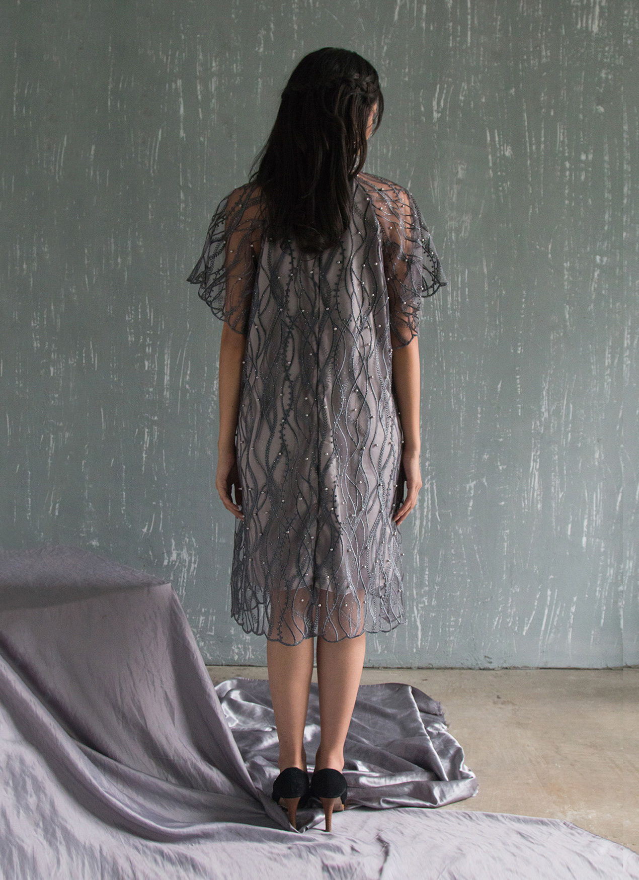 Jove Official Lily Dress - Gray