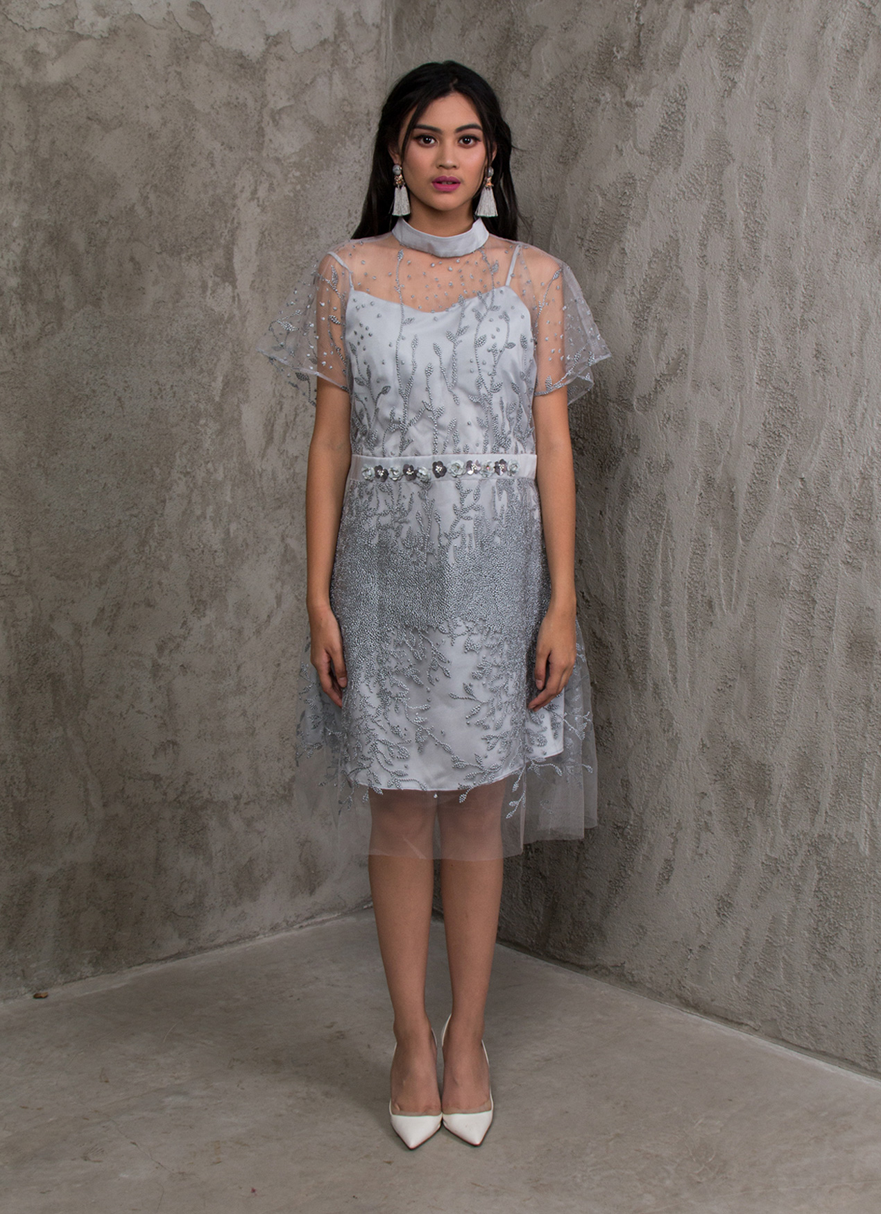 Jove Official Coco Dress - Gray