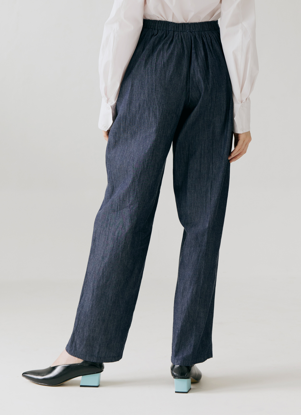 ATS THE LABEL Torikdanumaya Pants - Denim