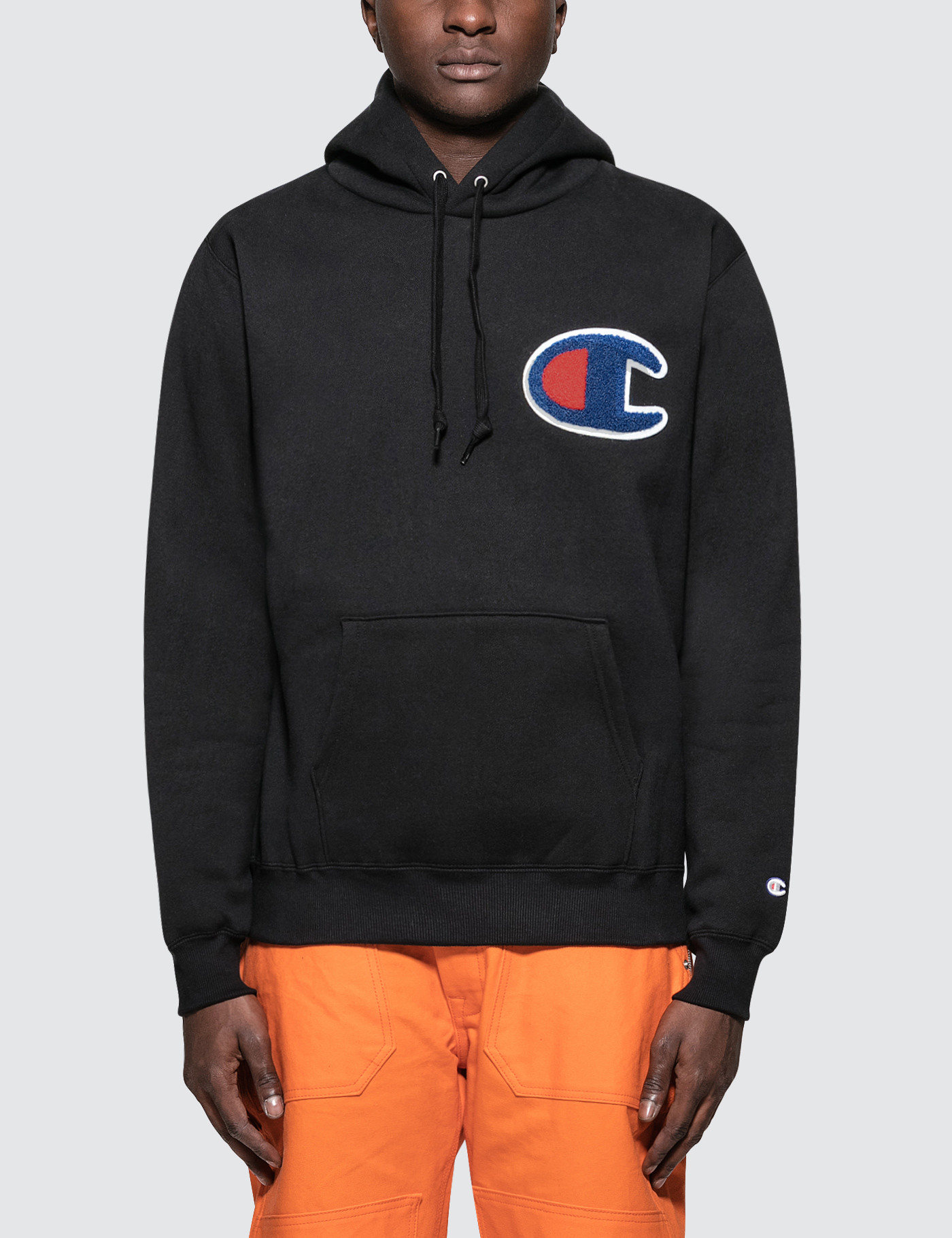 39f9019b8db26 Buy Original Champion JP Patched C Logo Hoodie at Indonesia