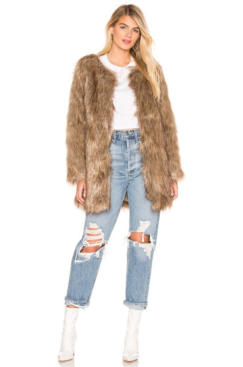 Unreal Fur Wanderlust Faux Fur Coat