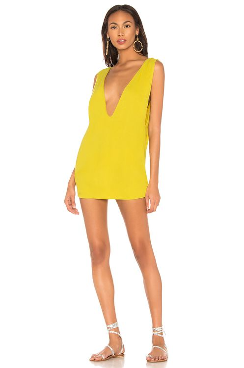 Indah Pella Plunge Back Shift Dress