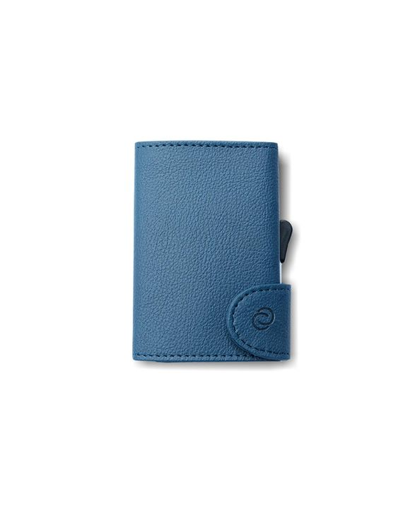 C-Secure C-Secure PU Leather RFID Wallet Navy