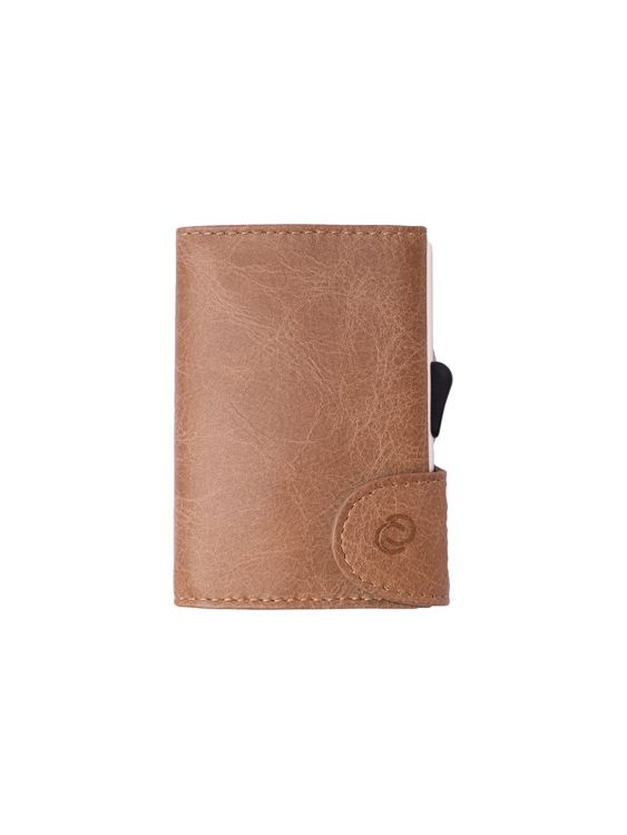 C-Secure C-Secure Italian Leather RFID Wallet Cobblestone