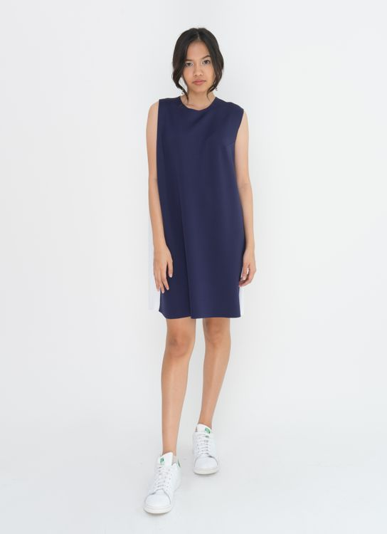 Basic by Komma Ep.02.015 Dress - Navy
