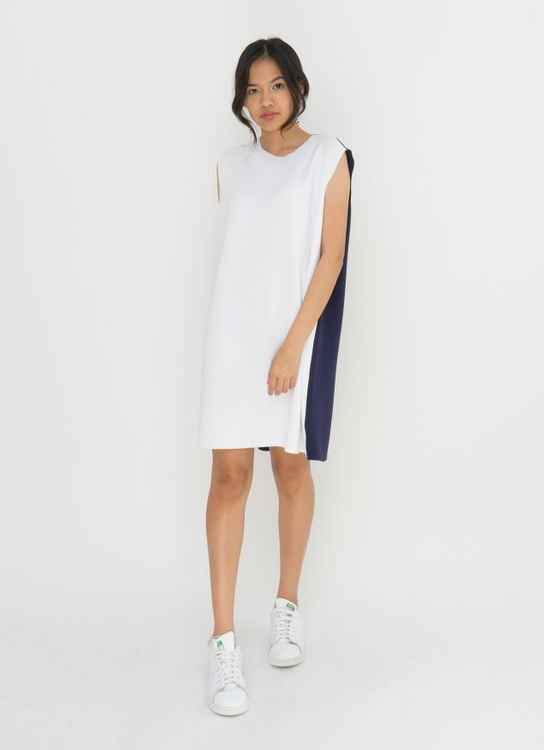 Basic by Komma Ep.02.015 Dress - White