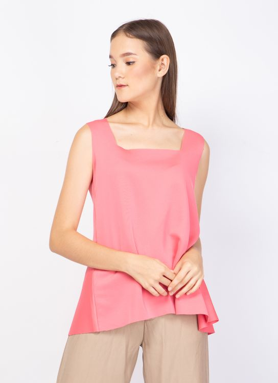 Basic by Komma Ep.02.025 Sleeveless Top - Blush