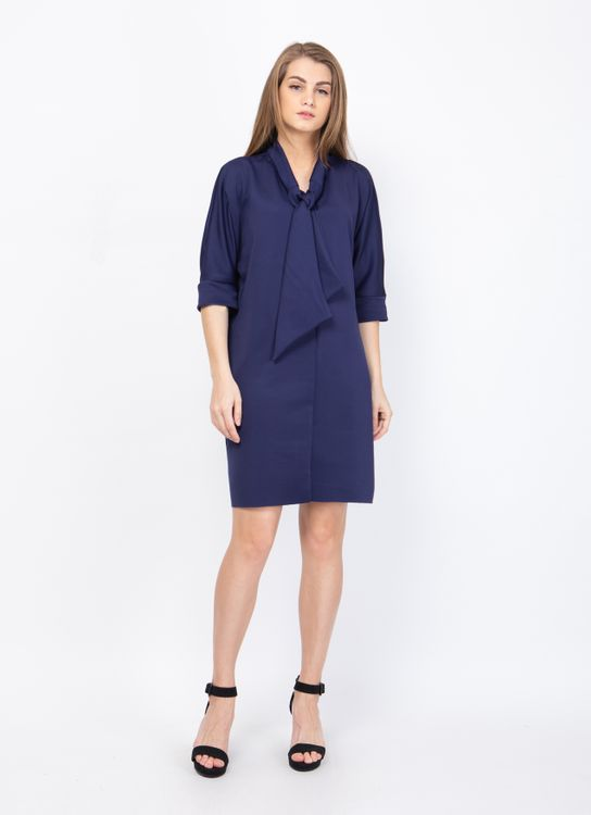 Basic by Komma Ep.02.026 Dress - Navy