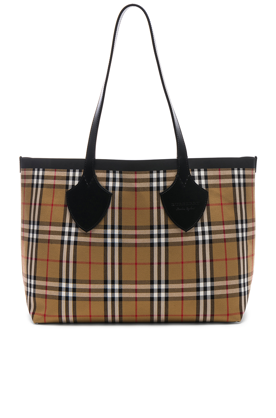 36f46e6b5c Burberry Reversible Vintage Check Tote; Burberry Reversible Vintage Check  Tote ...