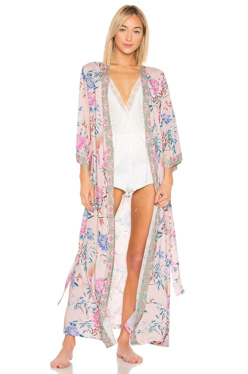homebodii Long Boho Robe