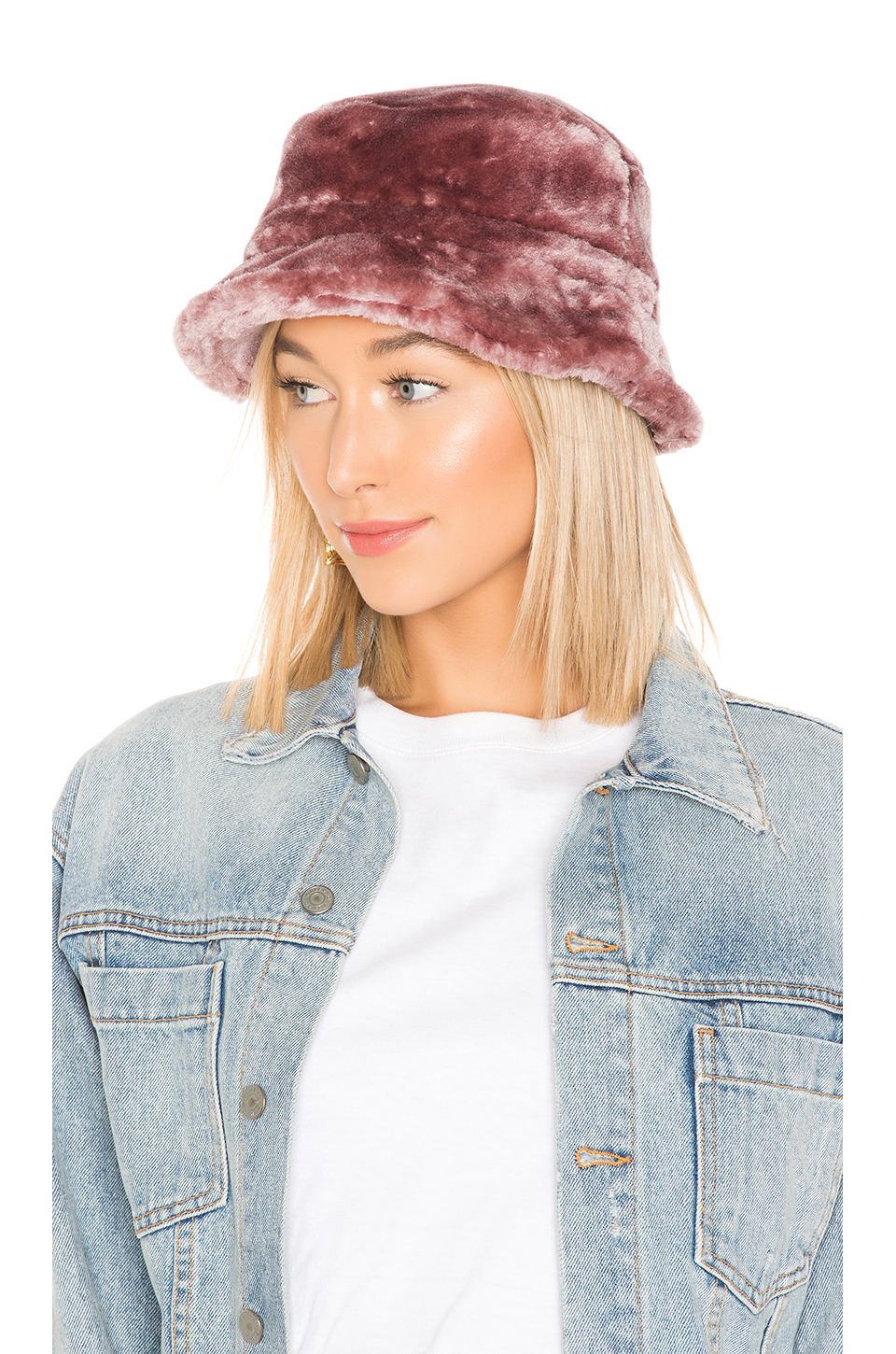 Buy Original Brixton Hardy Faux Fur Bucket Hat at Indonesia  9a3f38a3717