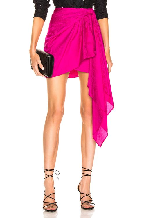 Dundas Drape Mini Skirt