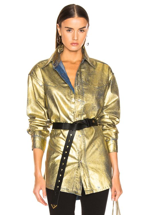TRE by Natalie Ratabesi Gold Mia Top