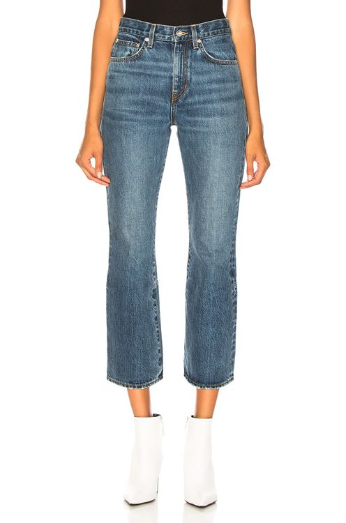 Proenza Schouler PSWL Cropped Flare Jean