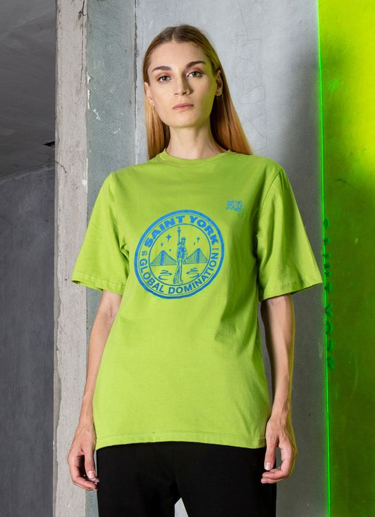 Saint York Columbus T-shirt - Green