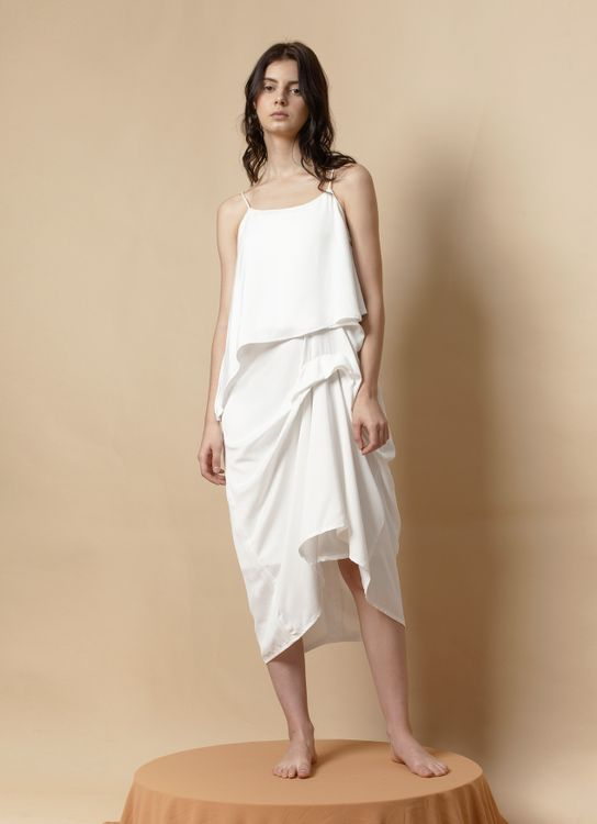 Morningsol Winna Dress - White
