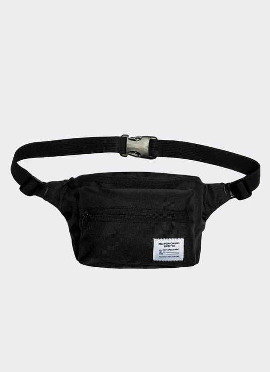 Bellwood Channel Boxy Fanny Pack - Black