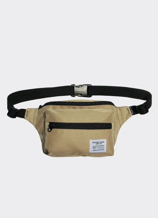 Bellwood Channel Boxy Fanny Pack - Cream