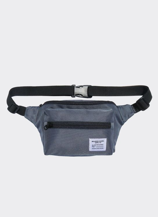 Bellwood Channel Boxy Fanny Pack - Gray