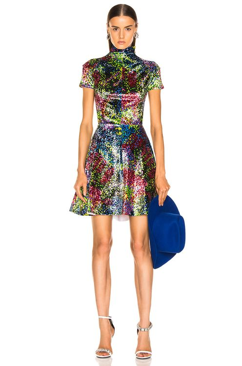 CALVIN KLEIN 205W39NYC Print Dress