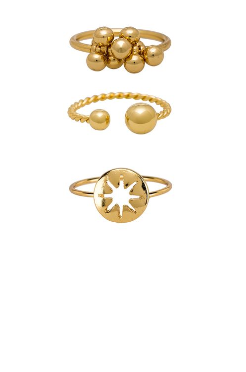 Ettika Bauble Ring Set