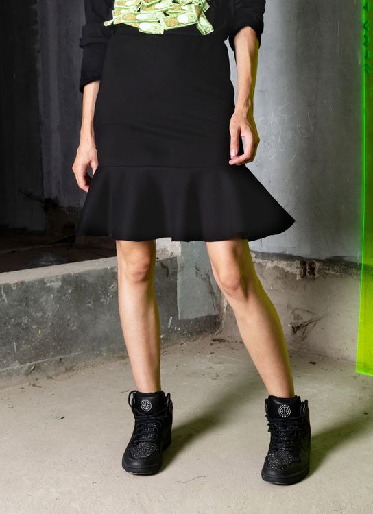 Saint York Lyon Skirt - Black