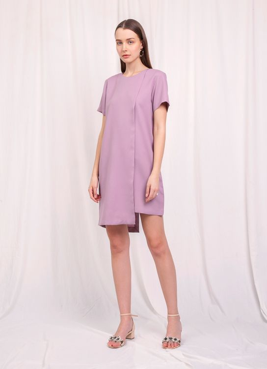 Krom Collective Klara Dress - Purple