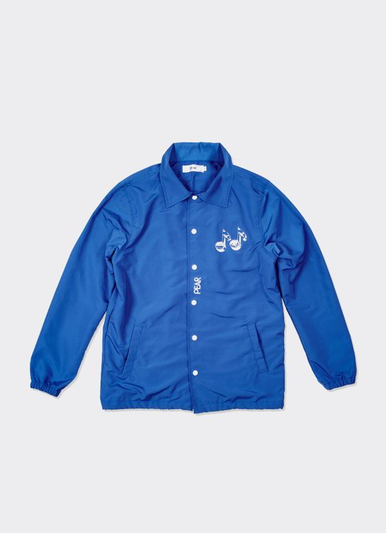 PPPEAR Sunset Melodies Coach Jacket - Blue