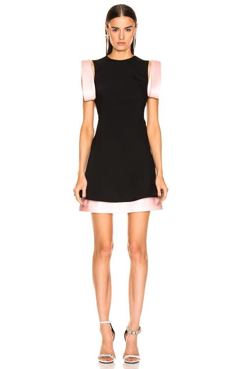 CALVIN KLEIN 205W39NYC Two Tone Dress