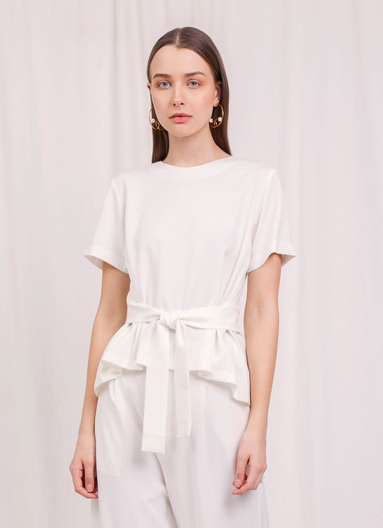 Krom Collective Nice Top - White