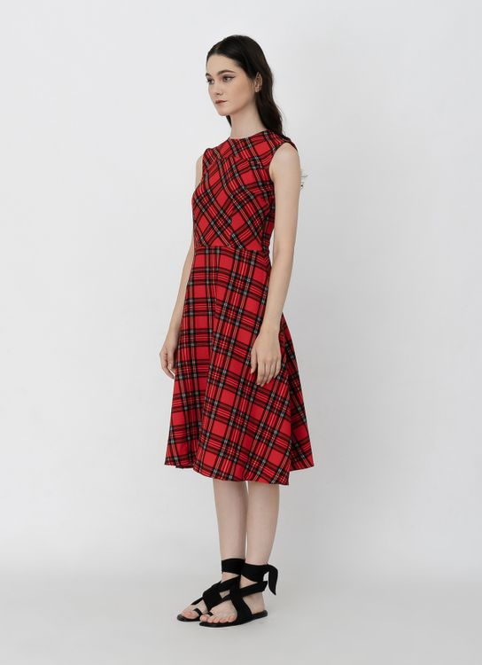 Day and Night Ginger Dress - Red