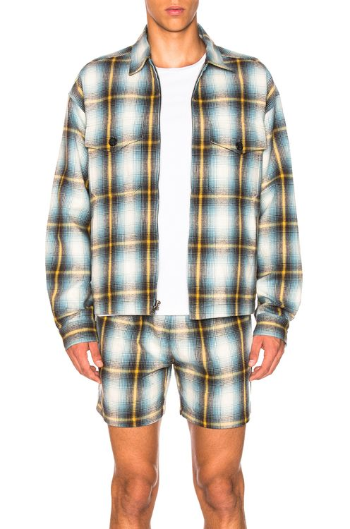Adaptation Plaid Jacket