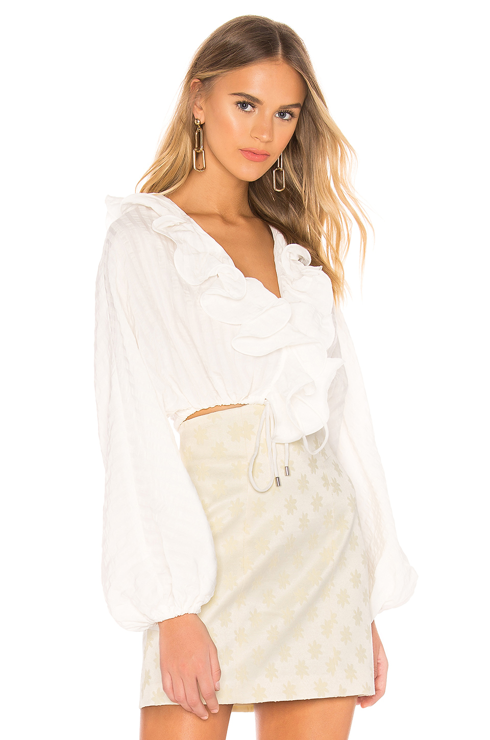 C/MEO Distinct Top In Ivory