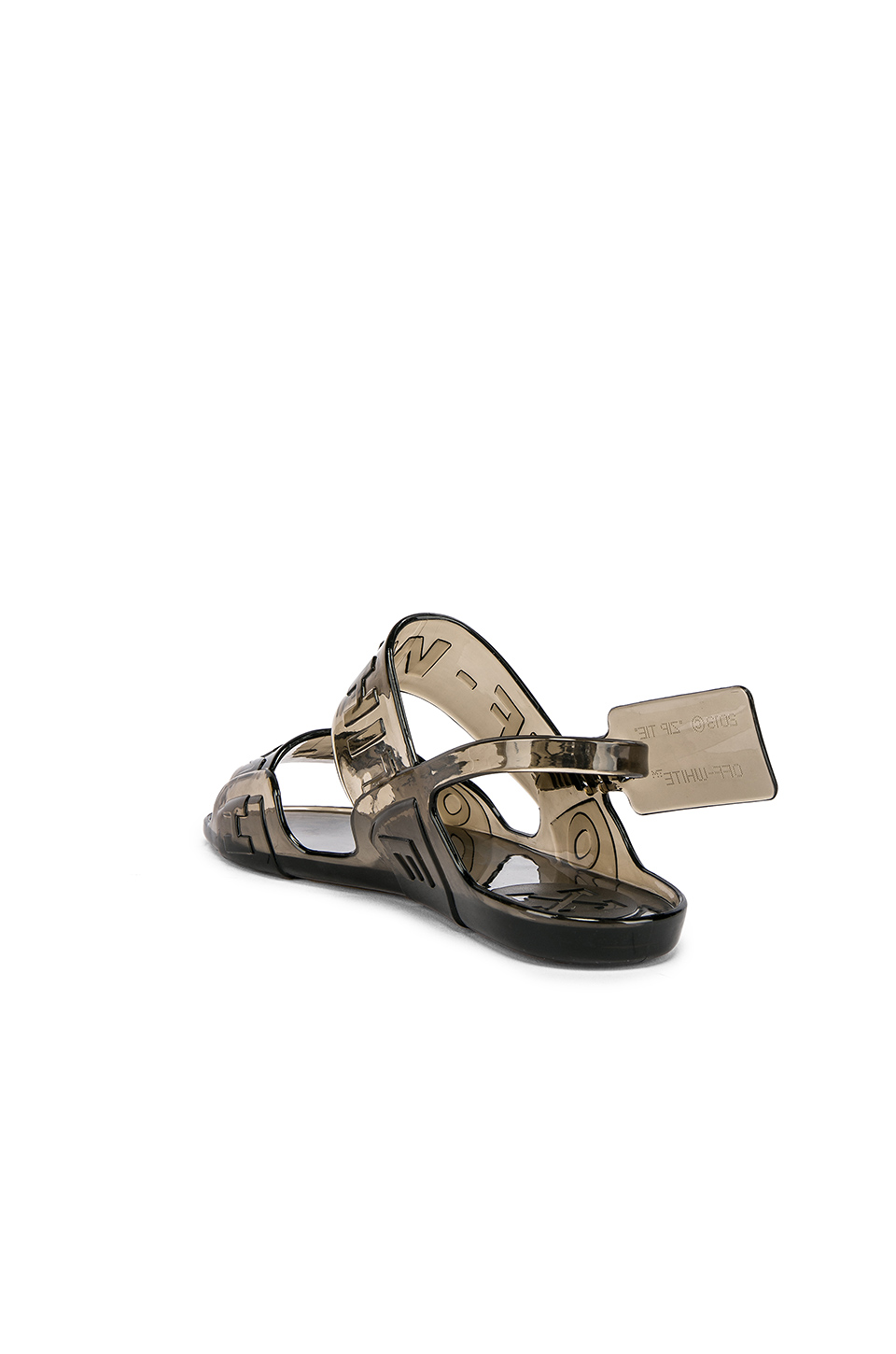 1fcea0119b76 Buy Original OFF-WHITE Zip Tie Jelly Sandal at Indonesia
