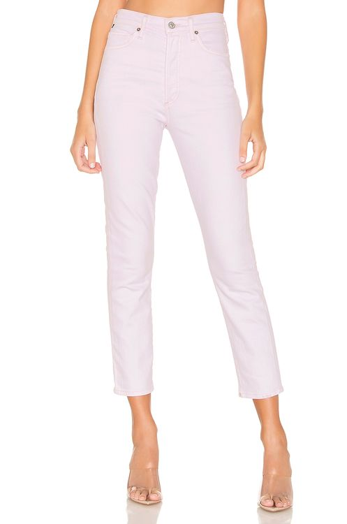 Citizens of Humanity Olivia Crop High Rise Slim Ankle