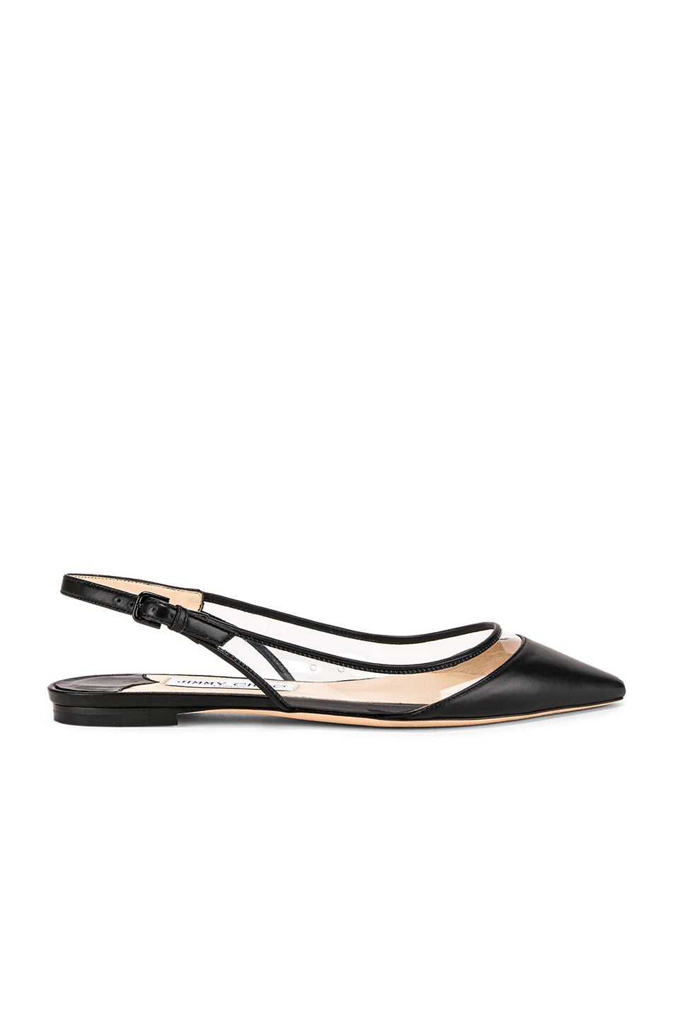 a915a8f3a4b Buy Original Jimmy Choo Leather Erin Flat at Indonesia