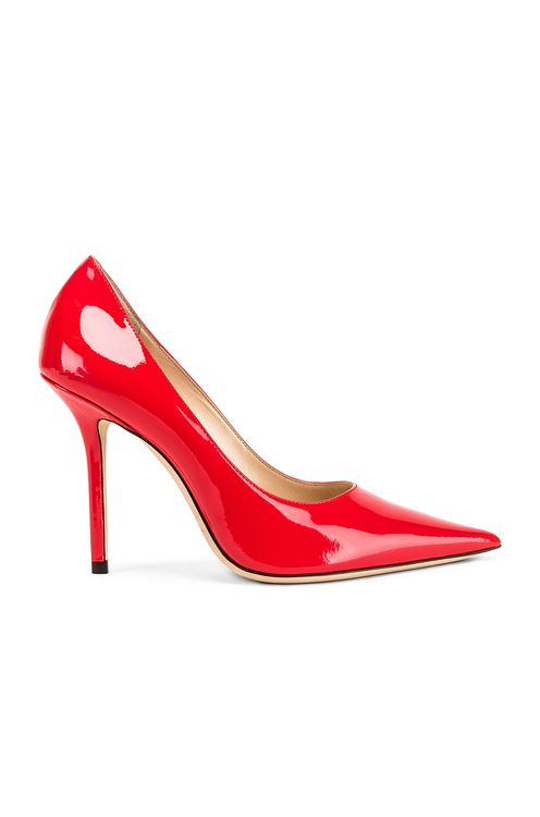 JIMMY CHOO Patent Leather Love 100 Heel