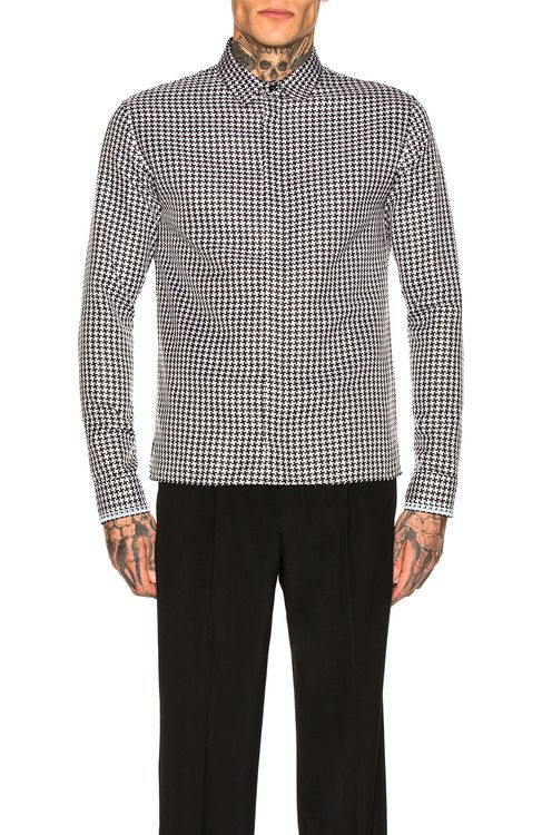 Haider Ackermann Embroidered Classic Shirt