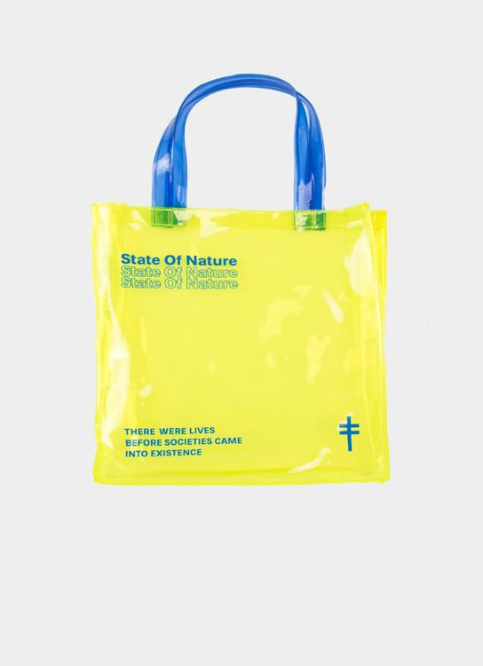 Monstore State of Nature PVC Bag - Yellow