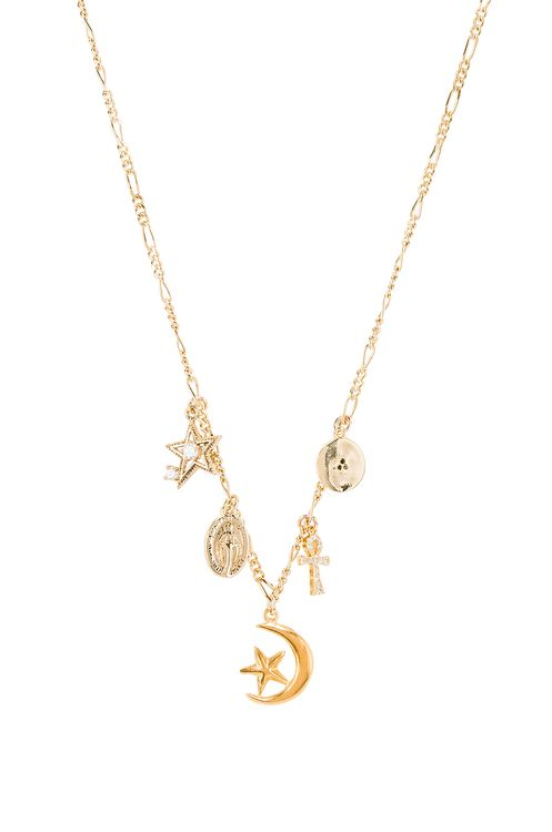 Natalie B Jewelry Celestial Charm Necklace