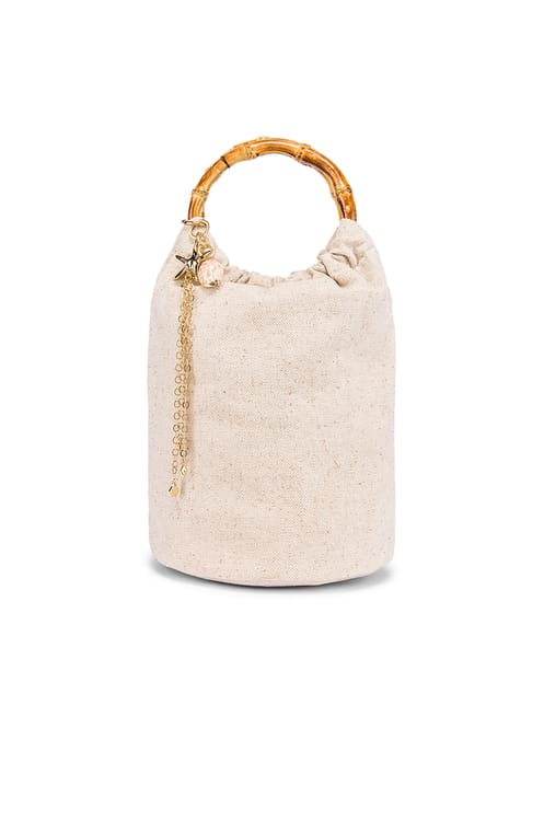 Ettika Shell Bucket Bag