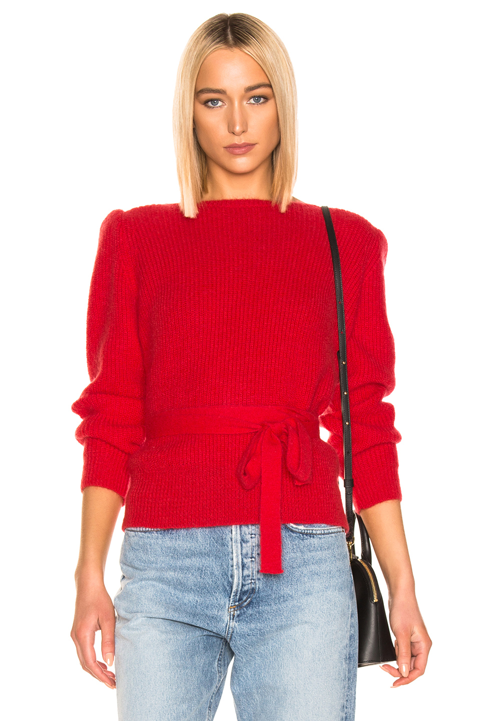 ALEXACHUNG Open Back Sweater